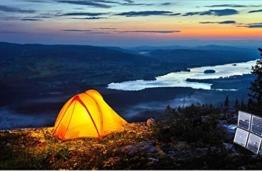 mini-solaranlge Camping, Wandern, Zelten und Garten