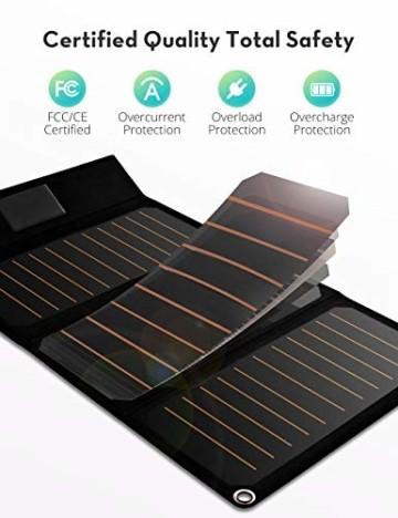 solar ladegerät ravpower