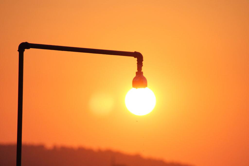 solarbetriebene dusche