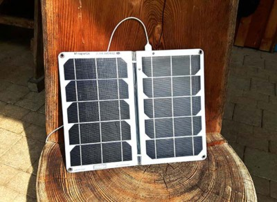 solarmodul handy tablet kamera akku