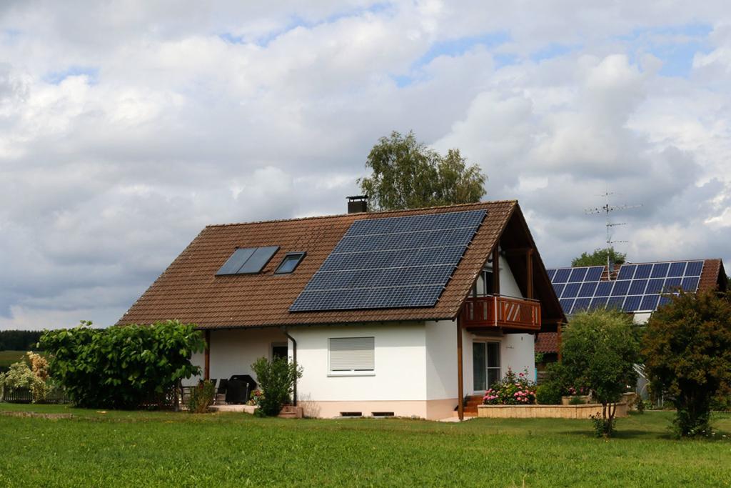 solarthermieanlage schrägdach